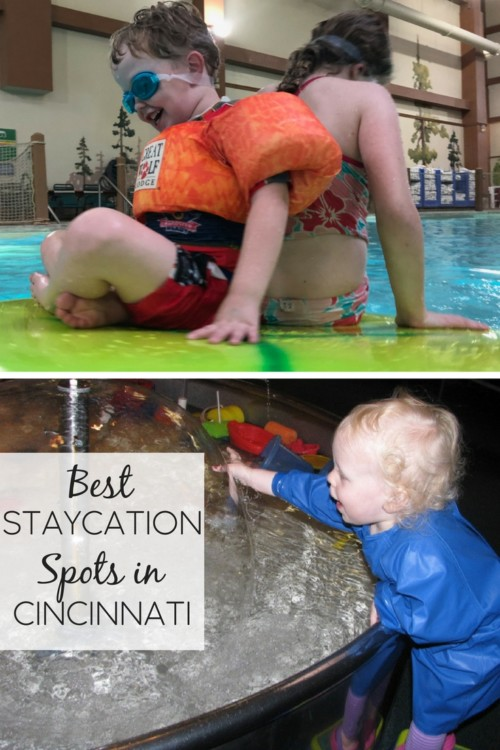 Planning a staycation or day trip in Cincinnati? Check out ideas of fun things for families in the Queen City, including Kings Island, Great Wolf Lodge, local sporting events, museums and more!