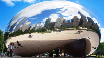 Chicago Bean sculpture