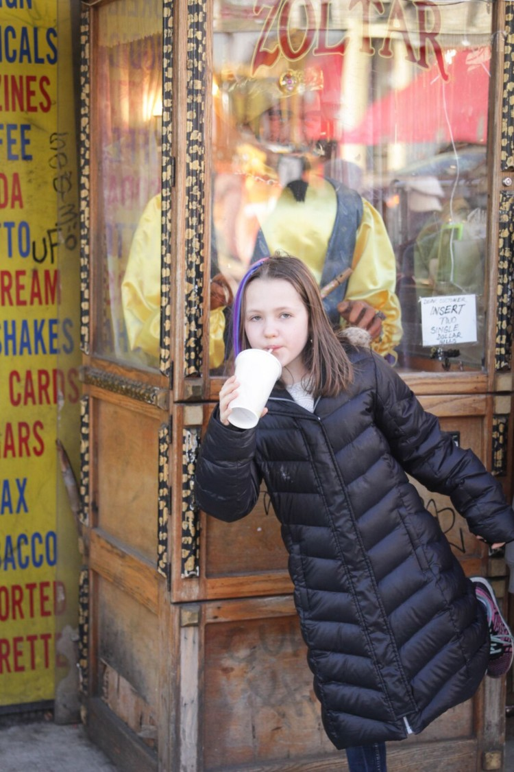Have you tried a Chocolate egg cream in New york City? It's a must when visiting NYC with kids.