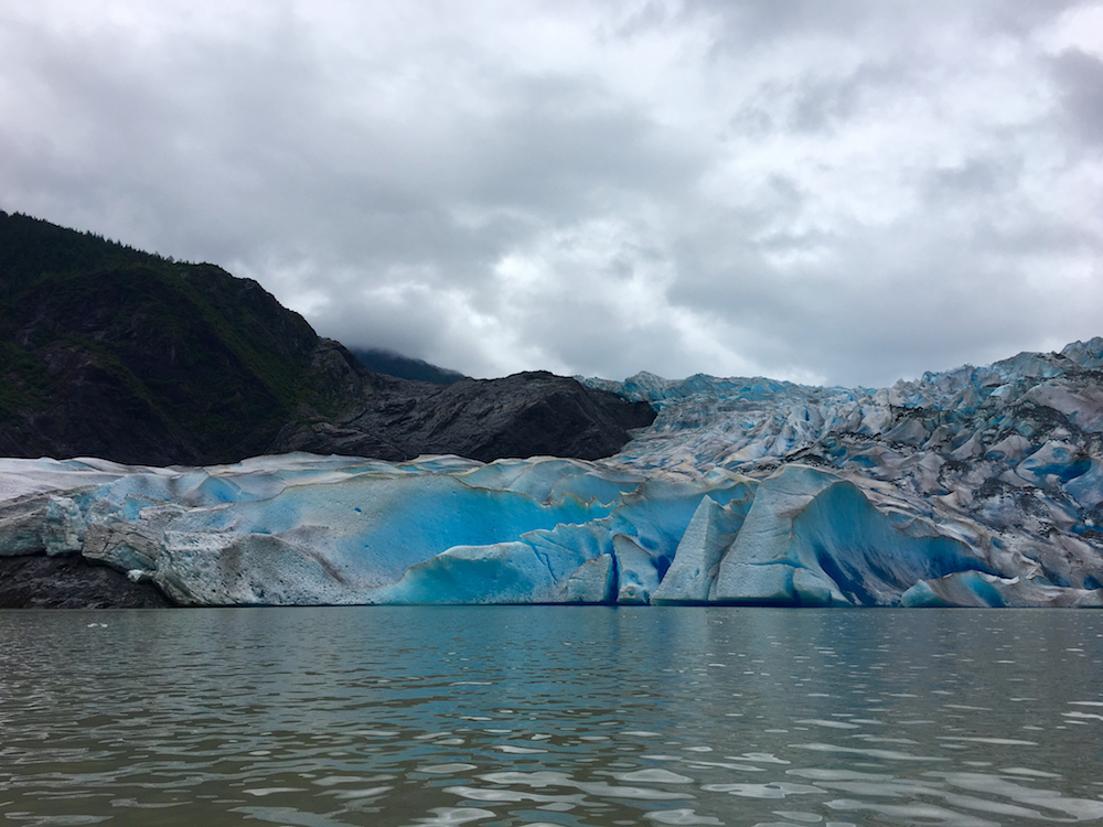 Mendenhall Glacier. How to Earn Junior Rangers Badges on an Alaskan Cruise