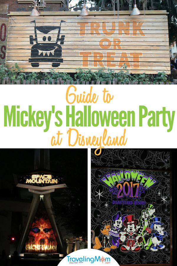 Guide to Mickey's Halloween Party at Disneyland during Halloween Time