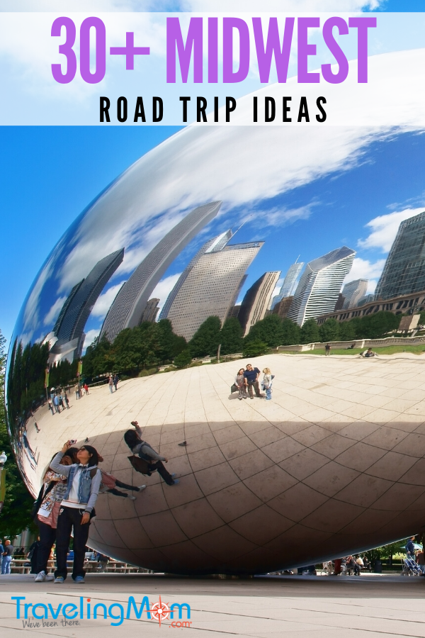 Midwest road trip ideas pin