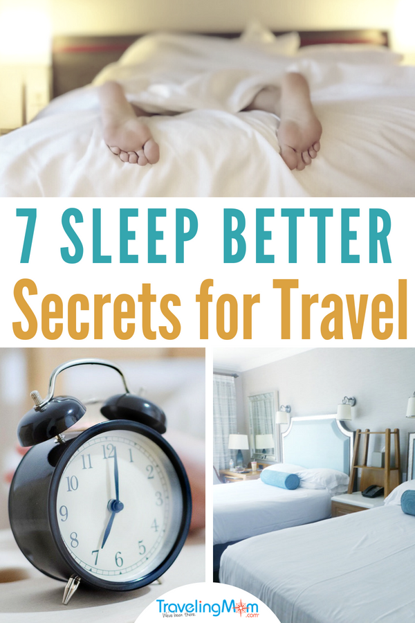 These 7 better sleep tips for travel and hotel overnight stays will show you how to sleep better when away from home. Find out what to pack, where to stay and even what to eat during your trip to help you feel more rested on vacation!