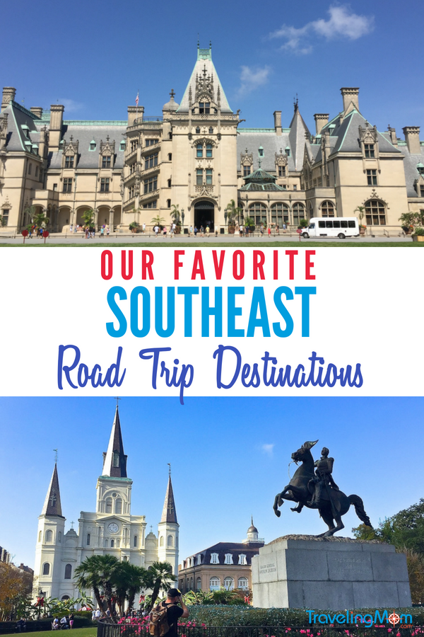 8 Best Road Trip Ideas in the Southeast USA | TravelingMom
