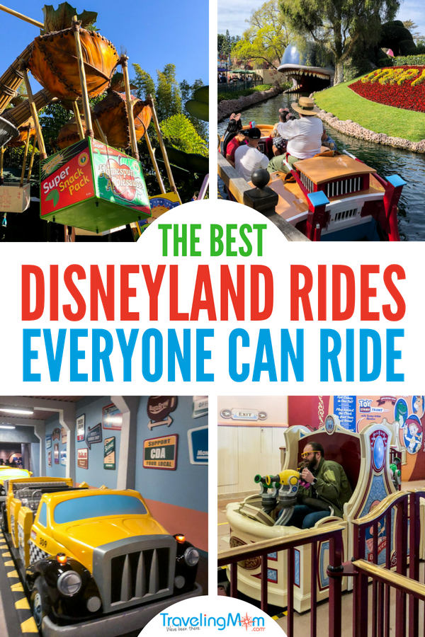 The best Disneyland rides for toddlers, for babies, for grandparents, and everyone in between! The ultimate list of rides for families visiting California with both adults and kids this year!