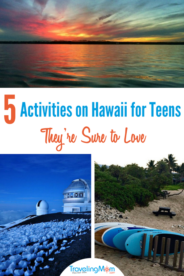 It can be challenging to find vacations that everyone in the family will enjoy. When you have teens, the challenge gets even more difficult. Well, one choice that is sure to excite the whole bunch is a Hawaii family vacation. The Big Island offers days and nights filled with adventure, discovery, and fun. And with these activities on Hawaii for teens, even they will have to admit to having a spectacular time. These TravelingMoms have been to Hawaii many times with kids of all ages, so these activities have received the seal of teen approval. #Hawaii #thebigisland #teentravel