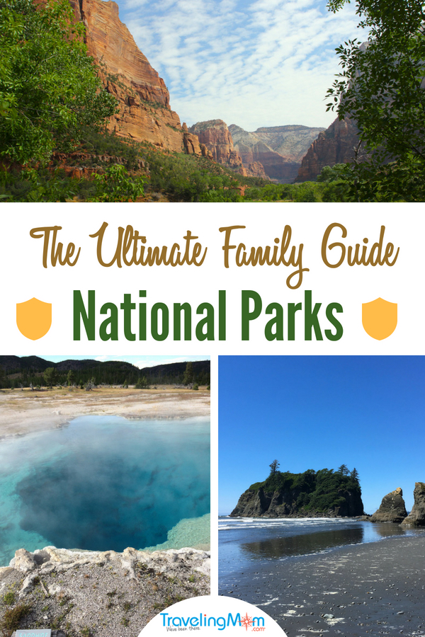 Who wants to visit a National Park? Got the Ultimate Family Guide for National Parks from across the U.S. Acadia to Olympic and Glacier to Big Bend, find the park for your next road trip adventure.