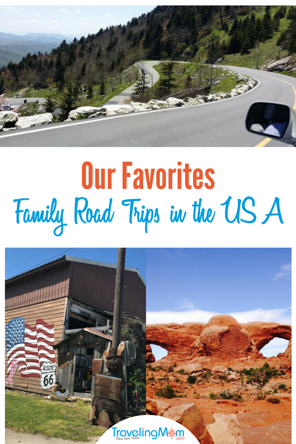 Best family road trips in the USA on TravelingMom
