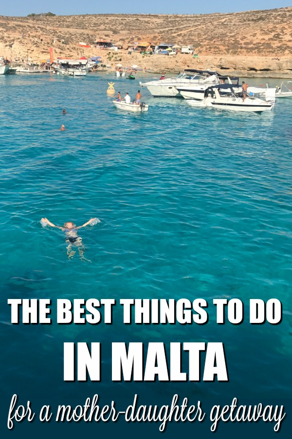 Headed to Malta with your daughter and want to explore? Here's the best things to do in Malta on a mother-daughter getaway - #TMOM approved! #Malta #Europe #Travel