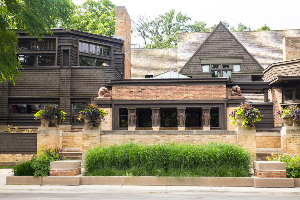 Frank Lloyd Wright's Home and Studio in Oak Park IL.
