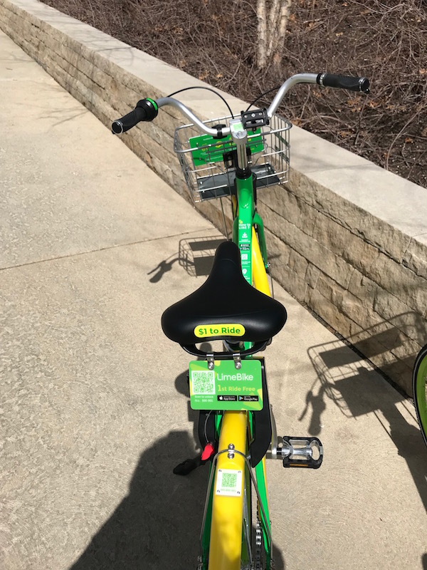 Free bike share in St. Louis Missouri