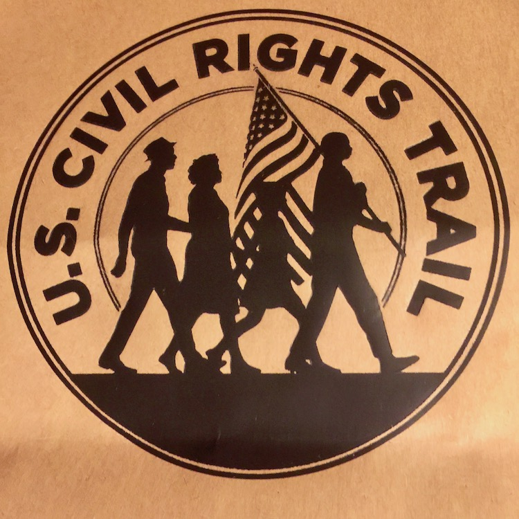 Jackson MS Civil Rights history figures in the Trail of 14 states.