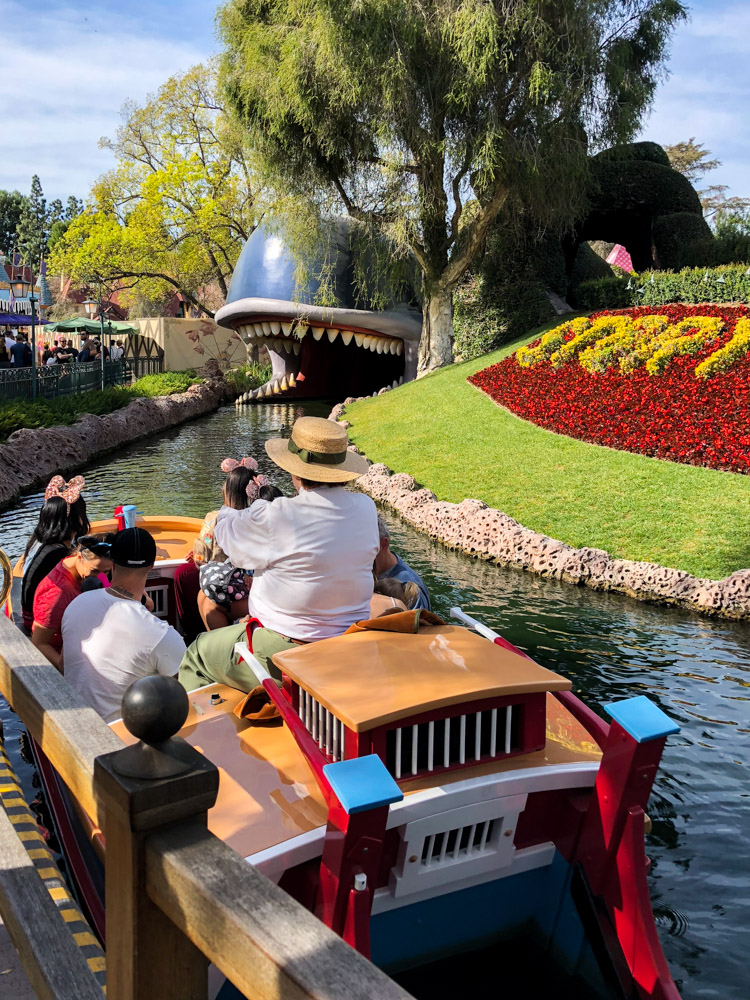 You'd never guess the Storybook canal boats is one of the best rides at Disneyland for all ages