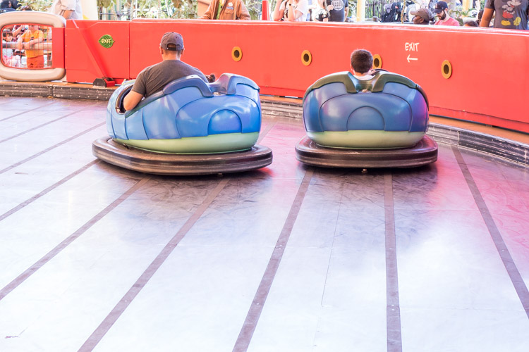Rides in A Bug's Land at some of the best Disneyland rides for all ages
