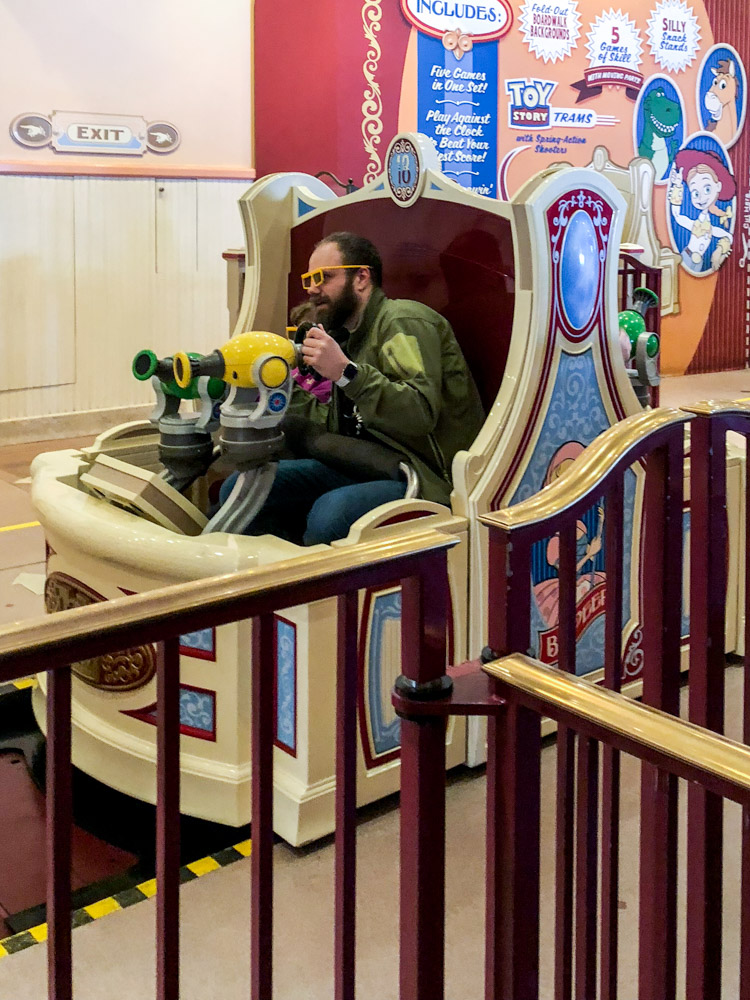Toy Story Midway Mania is one of the Disneyland rides being revamped for Pixar Pier.