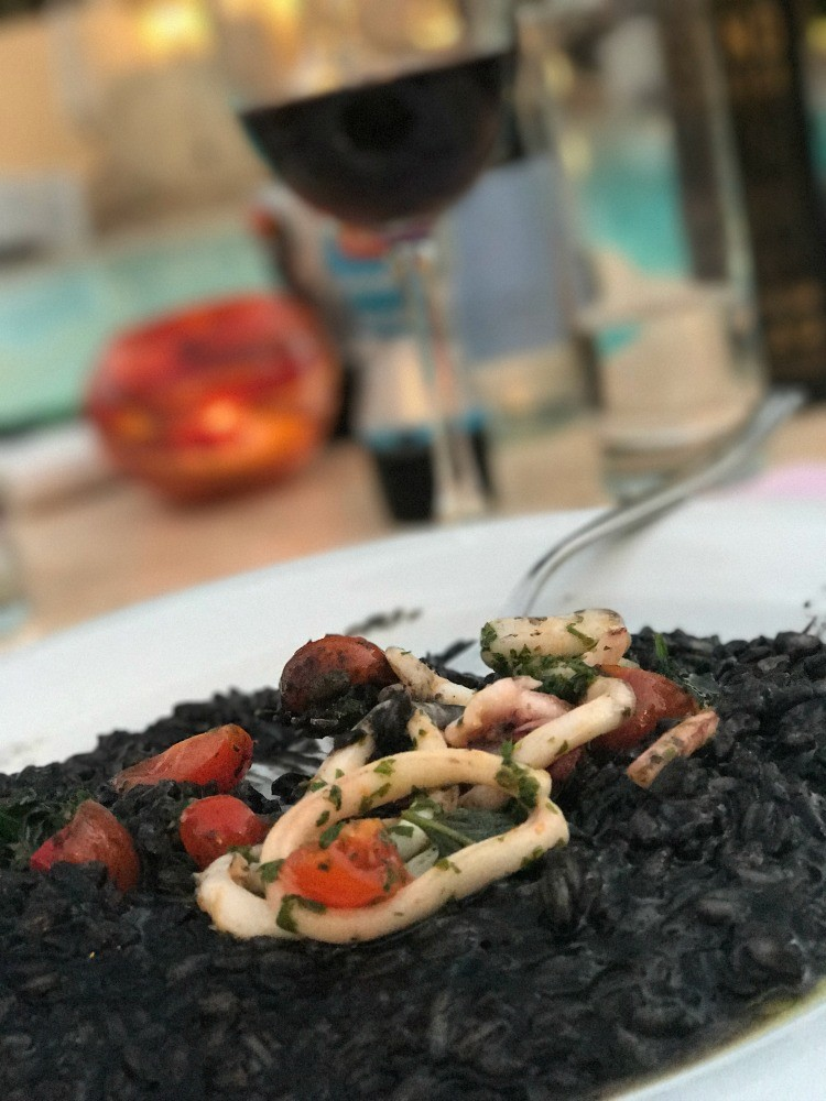 Things to do in Malta: Risotto at the Corinthia Hotel in Malta