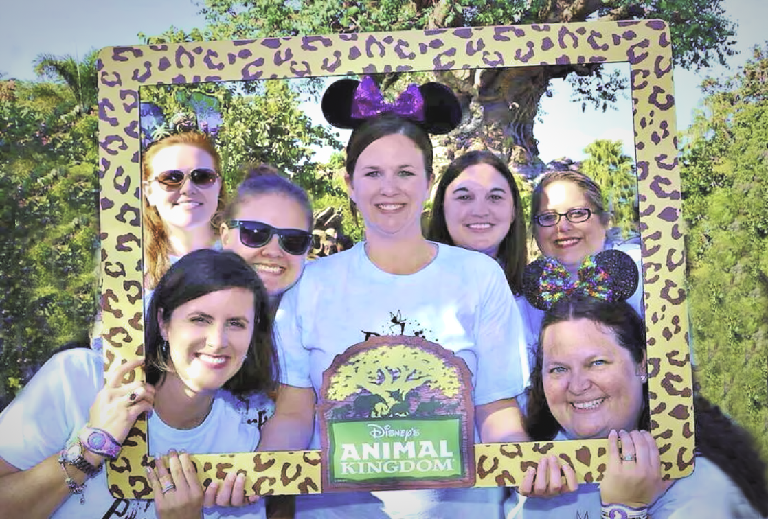 Disney girlfriend getaway. At Animal Kingdom, you will find the perfect escape from daily worries.