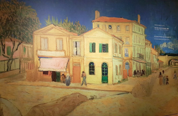 How to visit Amsterdam in two days. The Yellow House, painting by Vincent Van Gogh, Arles September 1888.