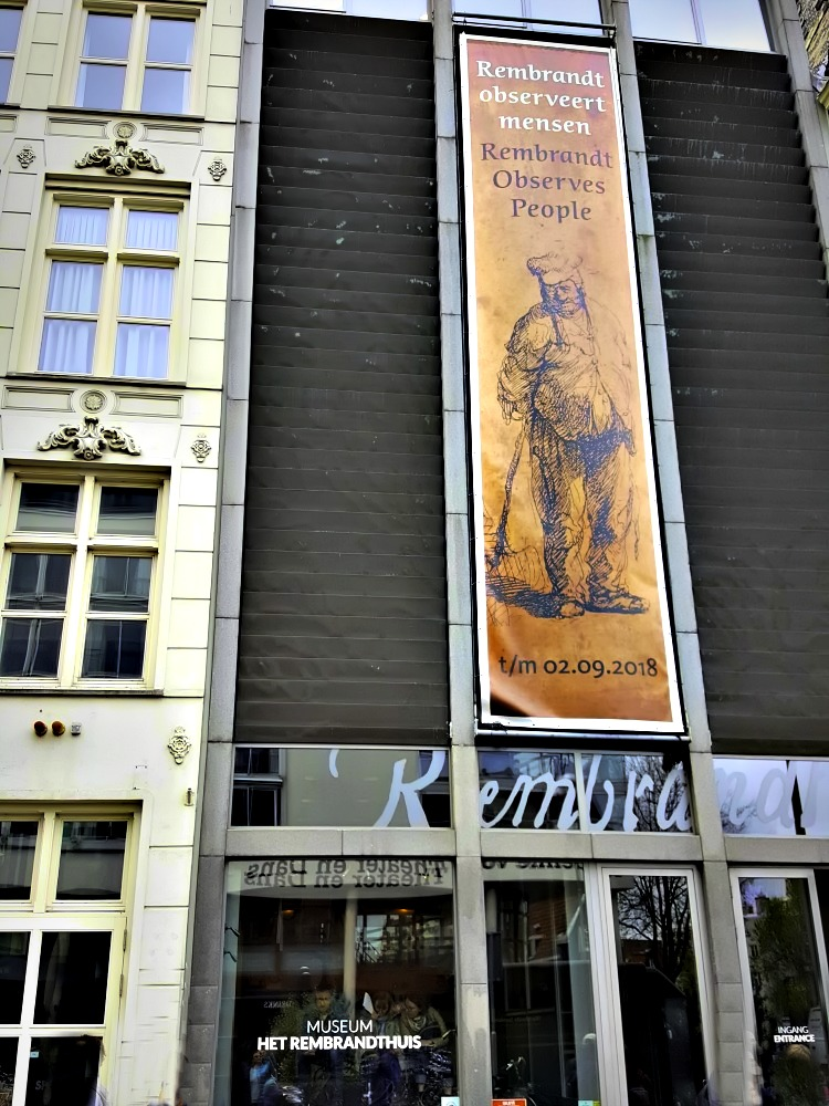 How to visit Amsterdam in two days. Rembrandt House in Amsterdam, where the painter lived for 20 years.