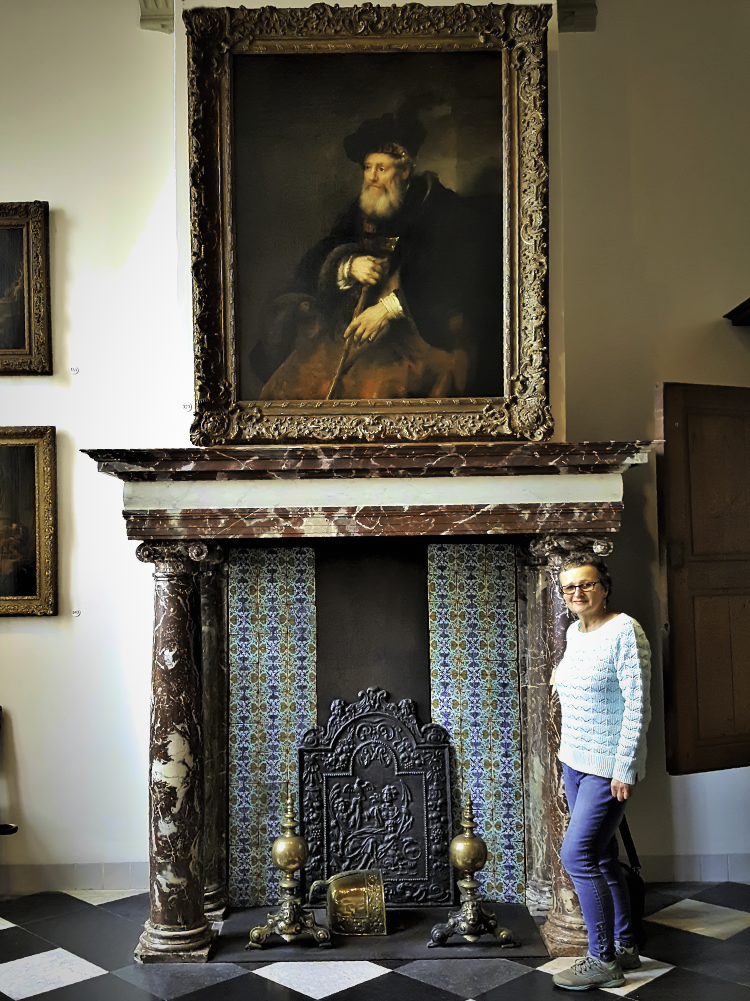 How to visit Amsterdam in two days. Interior of Rembrandt's house.