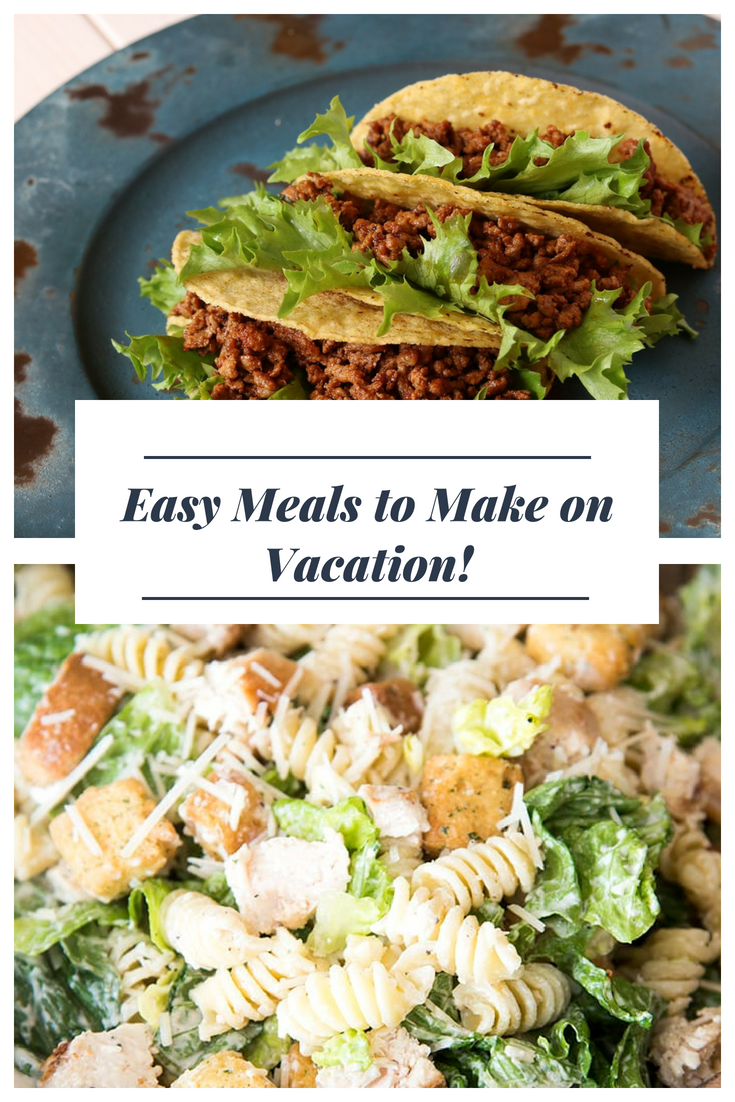 Have a kitchen in your vacation rental? Take a look at our ideas for recipes to make while on vacation to save money and sanity.
