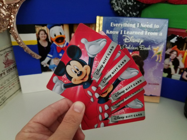 One way to save on your Disney vacation? Pre-buy gift cards at discount to use for easy Disney savings.