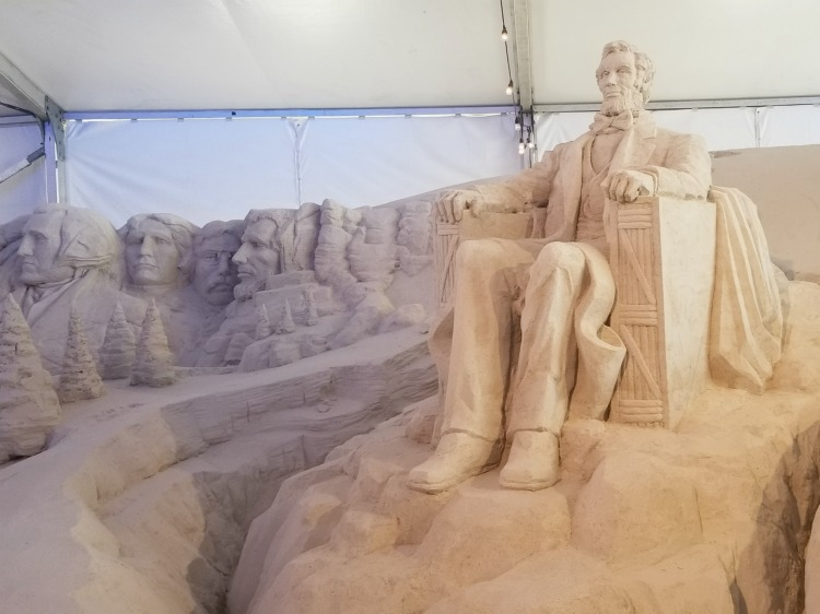Sand sculptors from around the world fly in to build sculptures for this family friendly event in Clearwater
