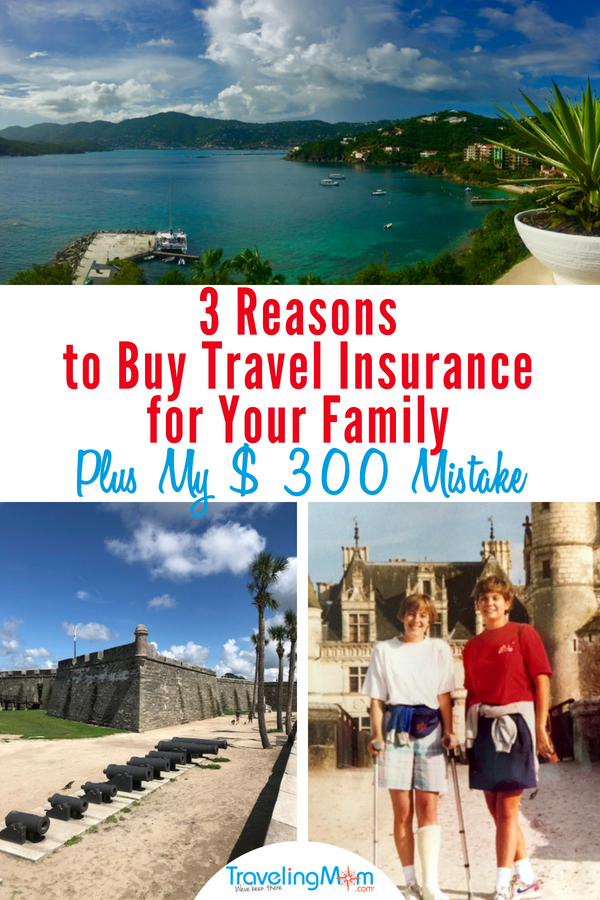 Count them...1,2,3 reasons to buy travel insurance for your family. Take it from a TravelingMom who once broke her ankle in France, and yet even so still made a simple mistake that cost her $300. In other words, buy the travel insurance for your family! #sponsored #travelinsurance #TravelMore #TravelHappywAllianz