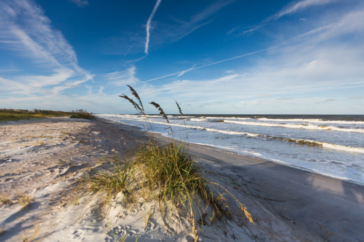 Alt text: Amelia Island has Florida's most beautiful beaches. Make sure to explore them on your next mother daughter getaway!