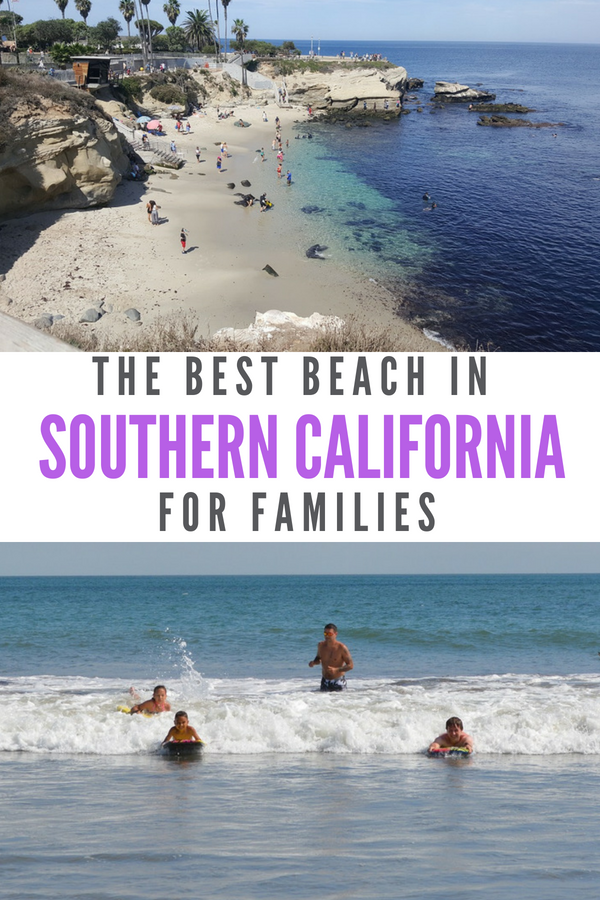 Discover the best beaches in Southern California for families. #California #travelwithkids #SanDiego #Beaches #SouthernCalifornia