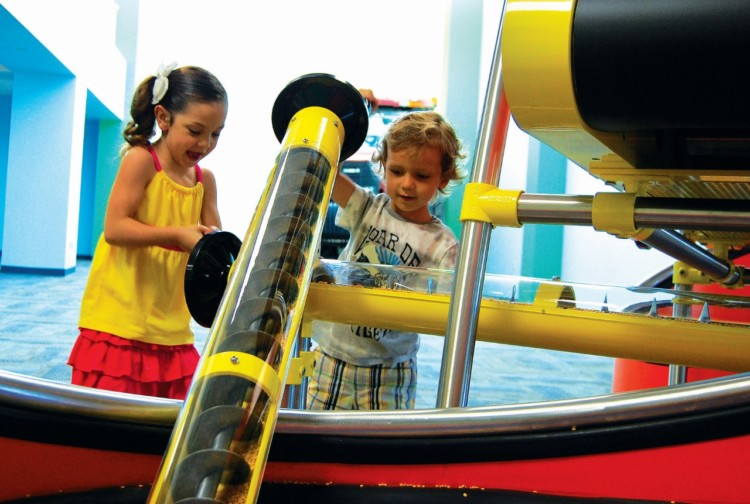Put the Discovery Center on your list of fun summer things to do in Rockford IL
