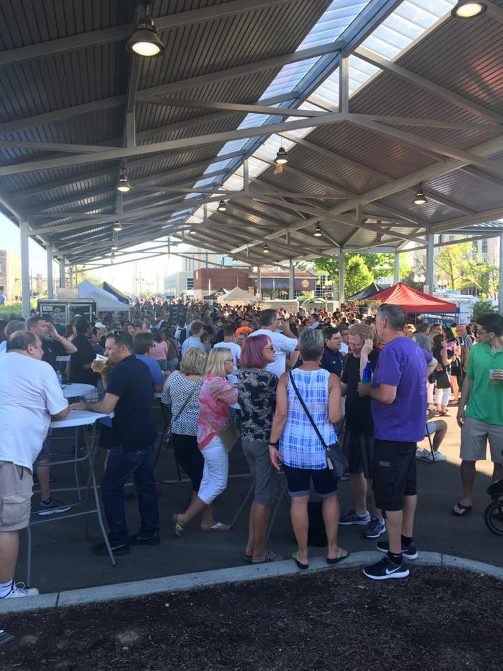 Put going to the Friday night market on your list of fun summer things to do in Rockford IL