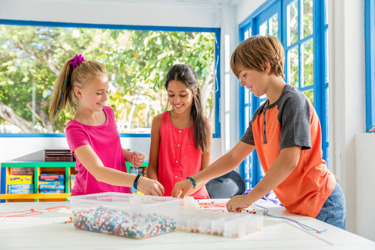 Hilton Kids' Club offers unique wellness activities just for kids.