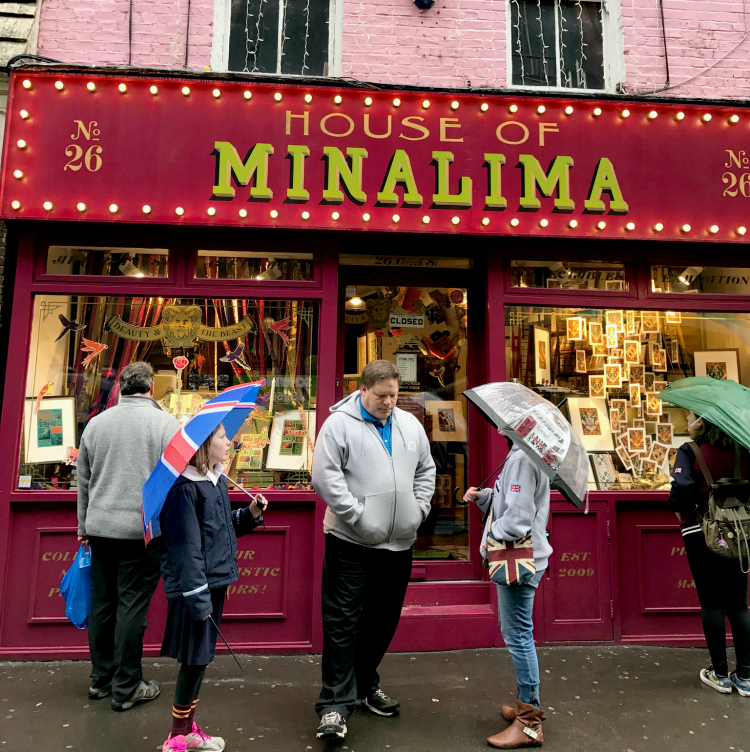 The House of MinaLima is a must-see for Harry Potter fans in London.