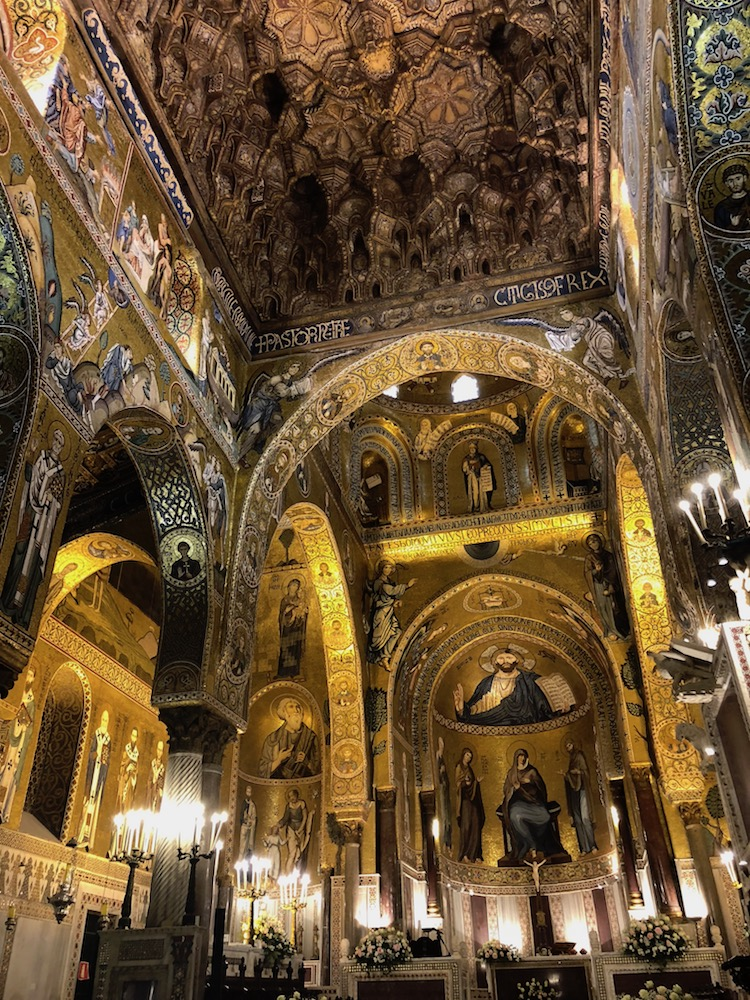 Things to do in Sicily include visiting churches reflecting Sicily's many conquering cultures.