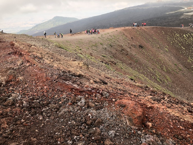What to visit in Sicily must include the volcano, Mt. Etna