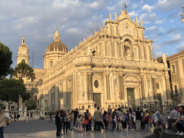 What to visit in Sicily includes churches, markets in Catania