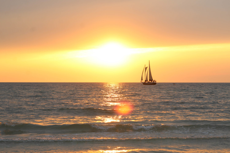 One of the most popular things to do in Clearwater Florida is take a sunset cruise