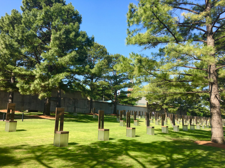 Oklahoma City Memorial. Best things to do in Oklahoma City with teens.