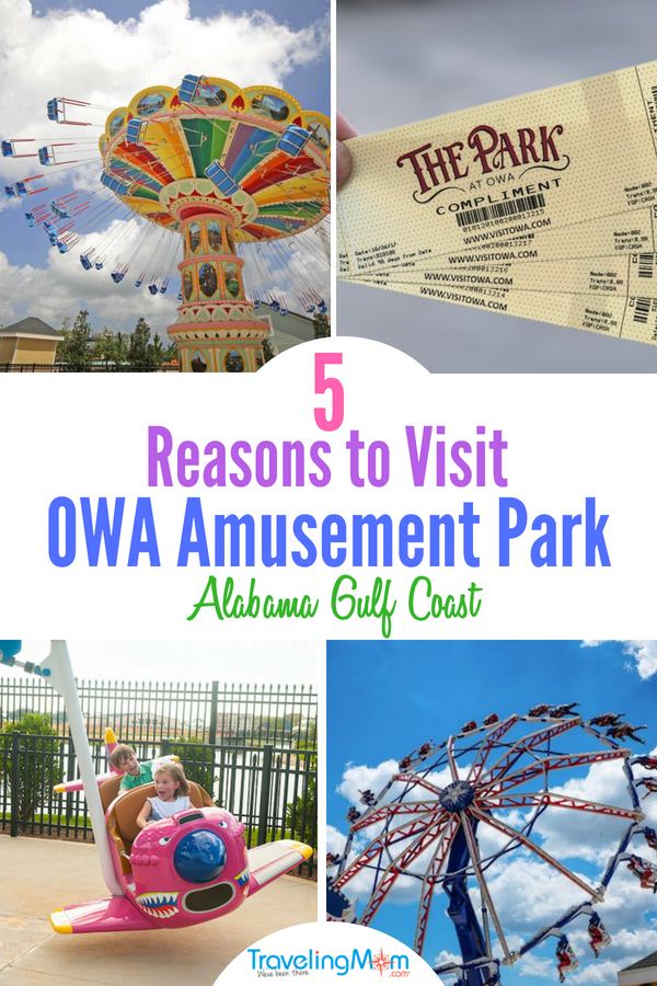 OWA Amusement Park is the family friendly place to be this summer on the Gulf Coast. #OWA #TMOM #GulfCoast #Visitalbeaches #OWAAmusement