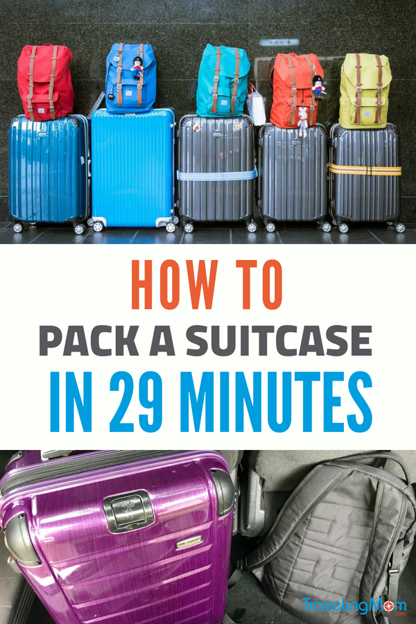Be a packing pro with these packing tips. #packingtips #packing #vacation #familytravel #pack #traveltips