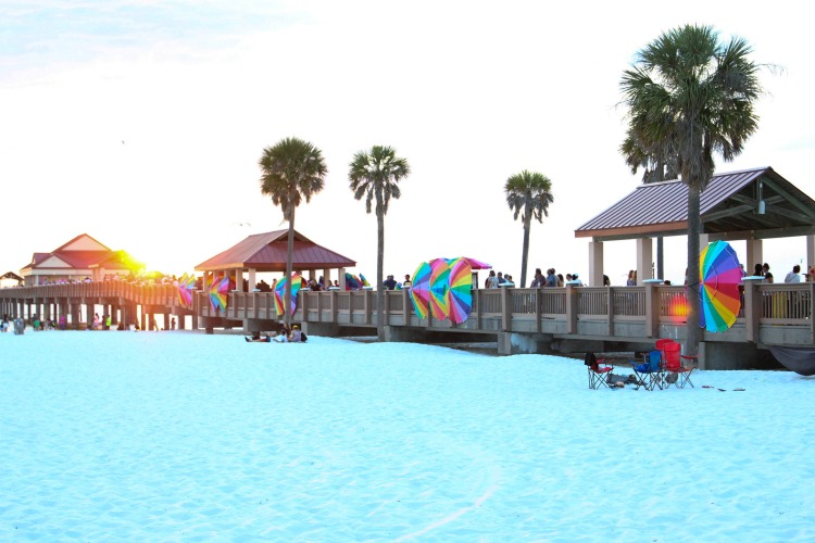 You can't take a Clearwater family vacation without checking out the sunset festival on Pier 60