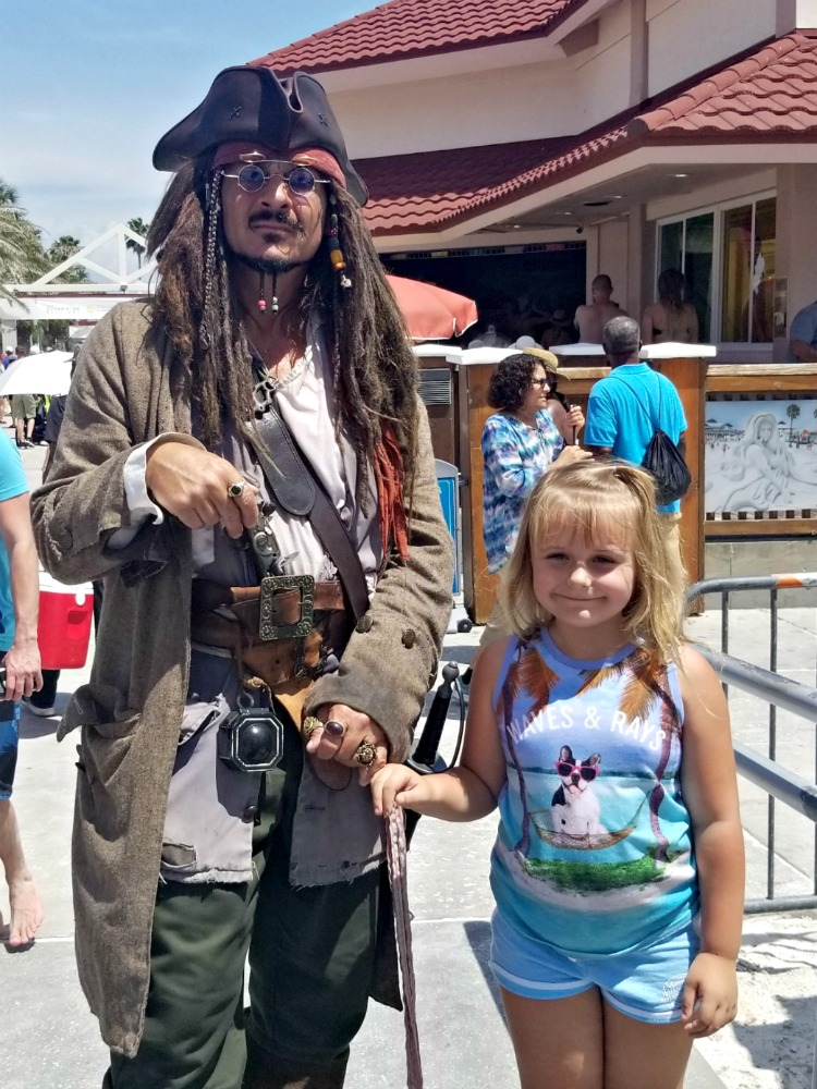 If you're looking for fun things to do with kids, try searching for pirates at Pier 60