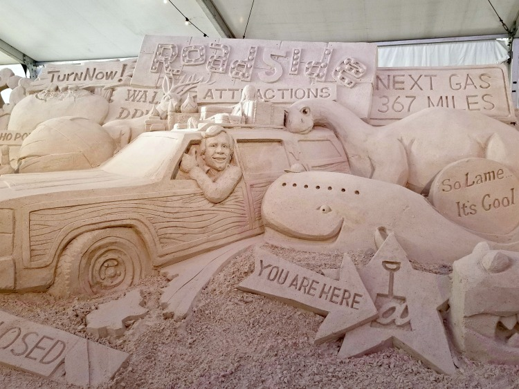 If you visit in April, a visit to the Sugar Sand Festival should be on your list of things to do in Clearwater Florida