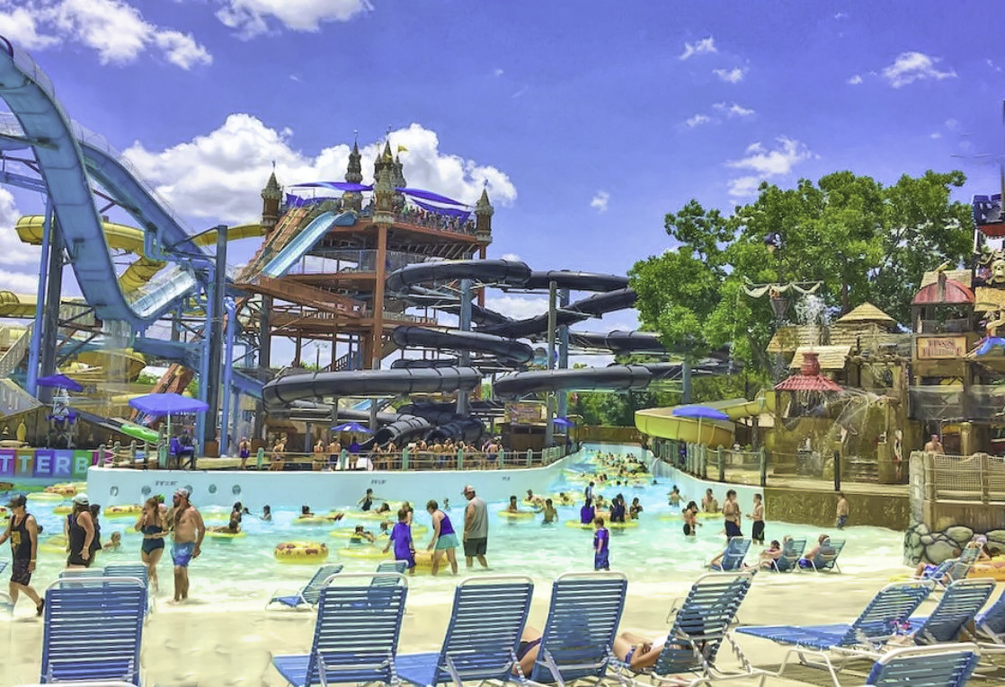 Schlitterbahn. Best water park in Texas.