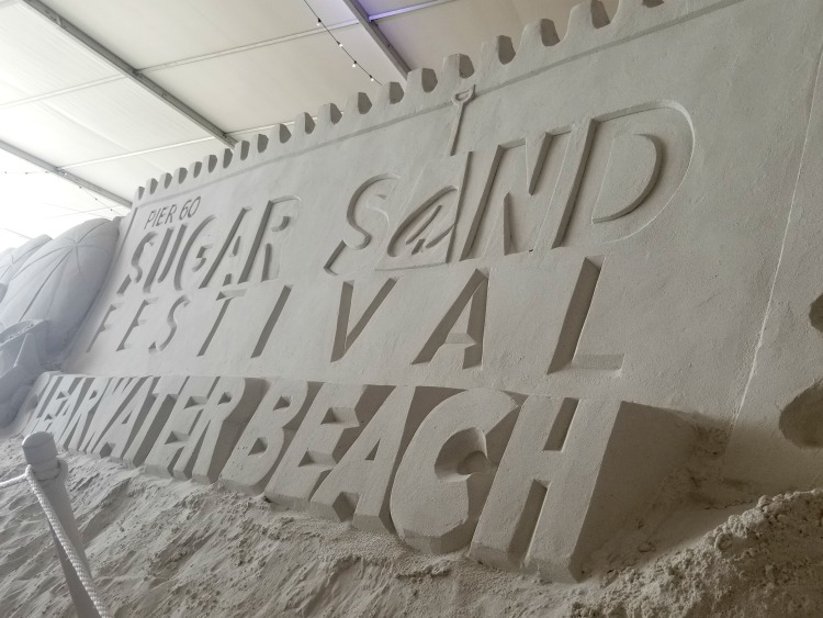 The Annual Sugar Sand Festival is a popular event at Clearwater Beach