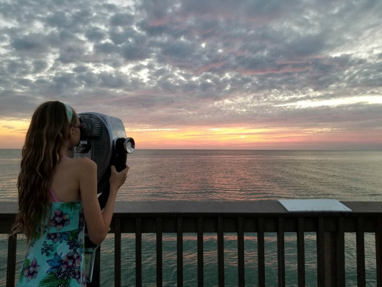 If you're looking for things to do in Clearwater, sunsets on the pier are a must.