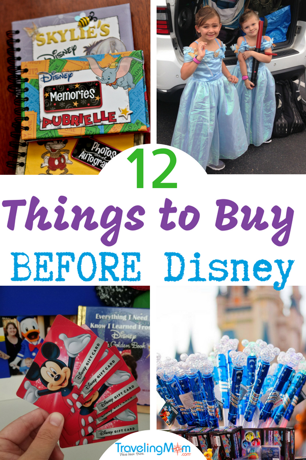 Disney isn't cheap but there are ways to rack up Disney savings without sacrificing on experiences. Here are the 12 things to buy before Disney for a great trip!