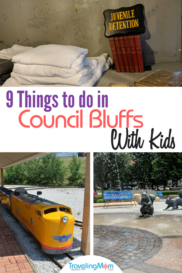 Discover all the things to do in Council Bluffs, Iowa with kids. #familytravel #Iowa #travelwithkids #CouncilBluffs #midwesttravel