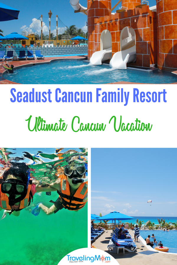 Seadust Cancun Family Resort guests will find lots of fun things to do. #seadustcancun #cancunfamilyresort